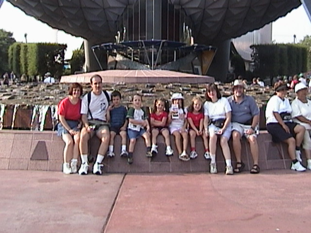 Epcot in August