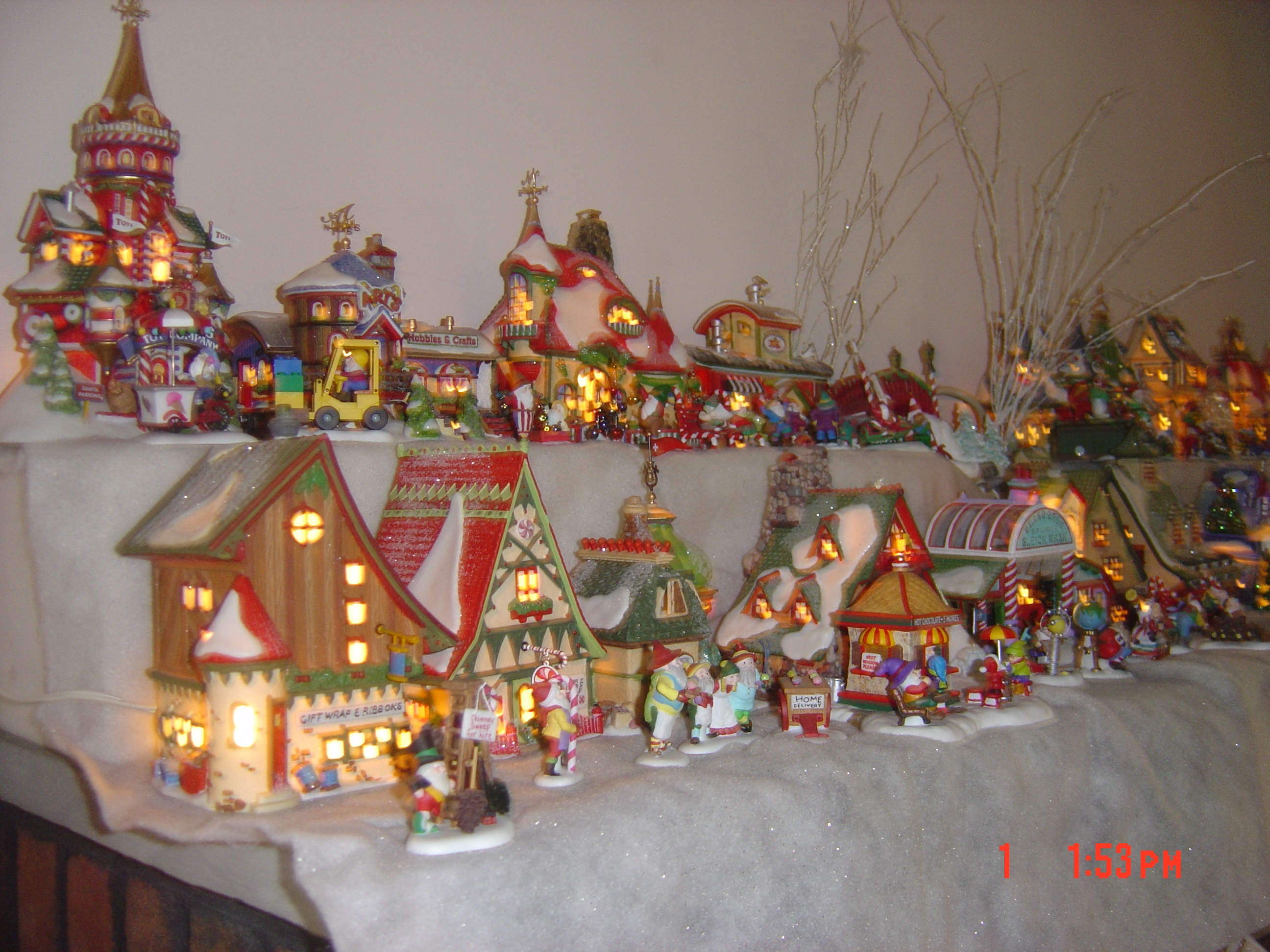 North Pole Village, 2007